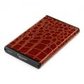 "Внешний корпус 2,5"" Gembird EE2-U2S-70L-BR коричневый SATA USB2.0 металл+кожзам"