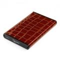 "Внешний корпус 2,5"" Gembird EE2-U3S-70L-BR коричневый SATA USB2.0 металл+кожзам"