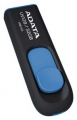 Флеш диск 32Gb A-Data UV128 black+blue (AUV128-32G-RBE)