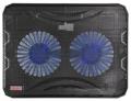 """Подставка для ноутбука Buro BU-LCP156-B214 15.6"""" 1*USB 2*140мм fan"""