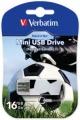 Флеш диск 16Gb Verbatim Mini Sport Edition Футбол (49879)