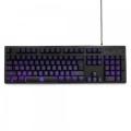 Клавиатура Gembird KB-G400L USB, подсветка 3 цвета, игровая