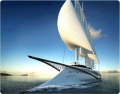 Коврик для мыши BURO BU-R51753 Яхта