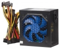 Блок питания NAVAN APFC-650W 120мм blue fan, APFC, SCP, OVP,UVP, TC, DUAL EMI, 24PIN/3*HDD/4*SATA/P4/6PIN/1fdd, черный, OEM