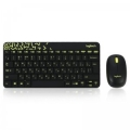 Комплект Logitech MK240 Wireless Combo black USB (920-008213)