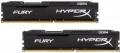 Модуль памяти DDR4 2x8Gb 2133MHz Kingston HyperX Fury Black (HX421C14FBK2/16) RTL