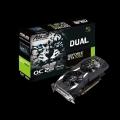 Видеокарта ASUS 2Gb GTX1050 128bit DDR5 1518MHz/7008MHz DVI HDMI DP (DUAL-GTX1050-O2G-V2) RTL