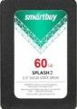 Жесткий диск SSD 60Gb SmartBuy Splash 2 SB060GB-SPLH2-25SAT3 RTL