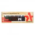 Клавиатура Гарнизон GK-110L USB, черный/белый, подсветка