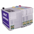 Картриджи перезаправляемые INKO Epson T02701-T02704 для Epson WorkForce WF-7110DDTW, 7610, 7620)