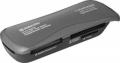Карт-ридер внешний Defender Ultra Rapido USB 2.0, 4 слота (83261)