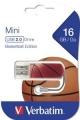 Флеш диск 16Gb Verbatim Mini Sport Edition Баскетбол (98679)