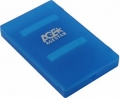 "Внешний корпус 2,5"" AgeStar SUBCP1 пластик, blue"