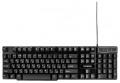 Клавиатура Гарнизон GK-200G USB, черный, механизированные клавиши, игровая