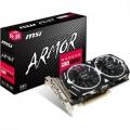 Видеокарта MSI 4Gb RX 570 256bit DDR5 1268MHz/7000MHz DVI HDMI DP (RX 570 ARMOR 4G OC) RTL