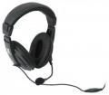 Гарнитура Defender HN-750 Gryphon черный, кабель 2,0м (63750)