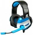 Гарнитура Dialog HGK-37L blue игровая, с подсветкой, и регулятором громкости