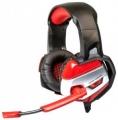 Гарнитура Dialog HGK-37L red игровая, с подсветкой, и регулятором громкости