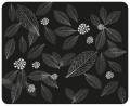 Коврик для мыши Dialog PM-H15 leafs - черный с рисунком листьев