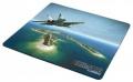Коврик для мыши KREOLZ PAN-14 тканево-резиновый, 270*230 мм, Jet Plane