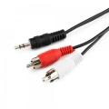 Кабель аудио Cablexpert CCA-458 2.5m джек3.5/2xRCA