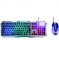 Комплект клавиатура+мышь Dialog KMGK-3020U black USB проводной