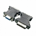 Переходник DVI-VGA Gembird, 29M/15F [A-DVI-VGA-BK]