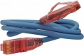Кабель литой Patch cord Hyperline PC-LPM-UTP-RJ45-RJ45-C5e-3M-LSZH-GY 3m синий