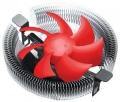 Вентилятор Crown CM-91PWM для Intel и AMD, TDP до 125 Ватт, 4pin, низкая посадка радиатора, гидродинамический подшипник