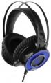 Наушники Gembird MHS-G500L, код Survarium, черн, подсвет син, рег громкости, каб 2.3м
