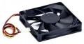 Вентилятор для корпуса Gembird D8015BM-3 80x80x15, подшипник, 3 pin, провод 30 см