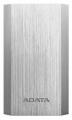 Портативный аккумулятор (Power Bank) A-Data 10050, 10050mAh, 2 USB, корпус-металл, цвет- серебро