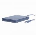 """Внешний дисковод FDD 3.5"""" Gembird FLD-USB-02 пластик, черный"""