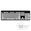 Клавиатура Oklick 580M black/white USB Multimedia slim