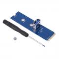 Переходник M.2 to USB 3.0 для райзера (NoName) + отвертка