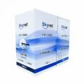 Кабель сетевой UTP 5e 305m SkyNet Light CSL-UTP-4-CU-OUT медный, FLUKE TEST,однож. 4x2x0,46 черный, outdoor