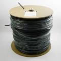 Кабель сетевой UTP 5e 305m Cablexpert UPC-5051E-SO-OUTR кат.5e CCA МЕДЬ, однож. 4х2х0.51 мм для внешней прокладки с тросом, Fluke Test ,черный