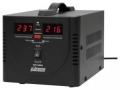 Стабилизатор напряжения Powerman AVS-1000D Black напольного/настольного исполнения с цифровой индикацией