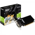 Видеокарта MSI 2Gb GT710 64bit DDR3 D-SUB DVI HDMI (GT 710 2GD3H LP) RTL