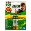 Аккумулятор Dialog HR03 (AAA) 900mAh (2шт)