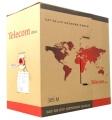 Кабель сетевой UTP 5e 305m Telecom Ultra Base 4х2х0.2мм (TUS42048E