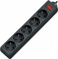 Сетевой фильтр Defender ES 1.8 метра 5 розеток чёрный (99484)
