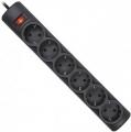 Сетевой фильтр Defender DFS 155 5 метров, 6 розеток, черный (99496)