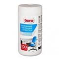 Салфетки Buro BU-Tsurl для пластиковых поверхностей и офисной мебели (100шт)