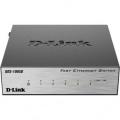 Коммутатор D-Link DES-1005D/O2B неуправляемый 5*10/100BASE-TX