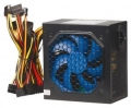 Блок питания Navan APFC-550W 120мм blue fan, APFC, SCP, OVP,UVP, TC, DUAL EMI, 24PIN/3*HDD/4*SATA/P4/6PIN/1fdd, черный, OEM