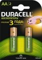 Аккумулятор Duracell HR6 1300mAh (AA) (2шт)