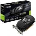 Видеокарта ASUS 3Gb GTX1050 96bit DDR5 1518MHz/ 7008MHz DVI HDMI DP (PH-GTX1050-3G) RTL