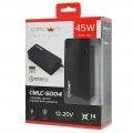 Блок питания для ноутбука Crown CMLC-5004 14 коннекторов, 45W, USB QC 3.0