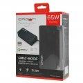 Блок питания для ноутбука Crown CMLC-6006 19 коннекторов, 65W, USB QC 3.0